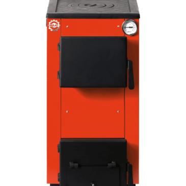 Твердотопливный котел Bulat ECO-10P с плитой
