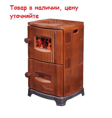 Конвекционная печь DUVAL ЕМ-5151 в коричневом цвете