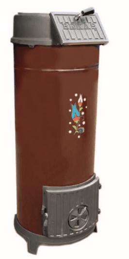 печь буржуйка чугунная