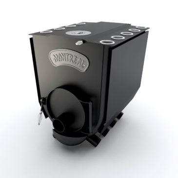 Булерьян печка Montreal Lux с конфоркой ПО-Б 02 ЧК