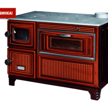 DUVAL EK-103F дровяная печь кухня, камин